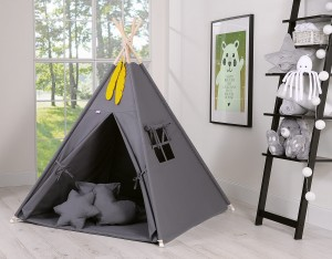 Namiot tipi teepee antracyt