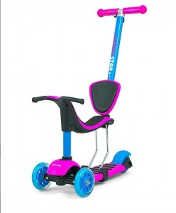 HULAJNOGA ROWEREK Scooter Little Star Pink-Blue #B1
