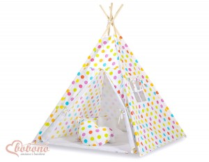 Namiot tipi teepee w grochy 548