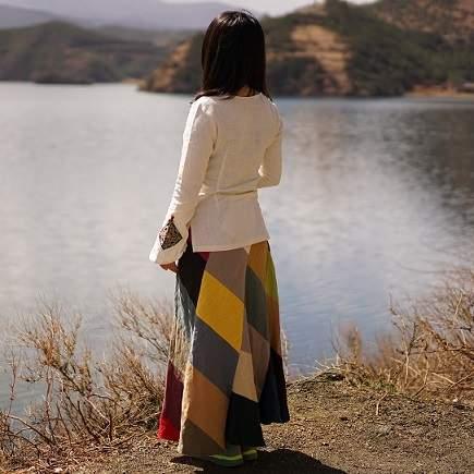 Blog Długa spódnica dla dziewczynki jak nosić? Bohemian